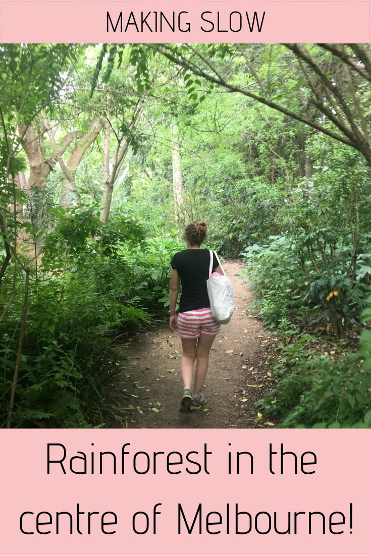 You walk through rainforests, pine forests, the tropics and an arid volcano in a single day, all in the heart of Melbourne, Australia!