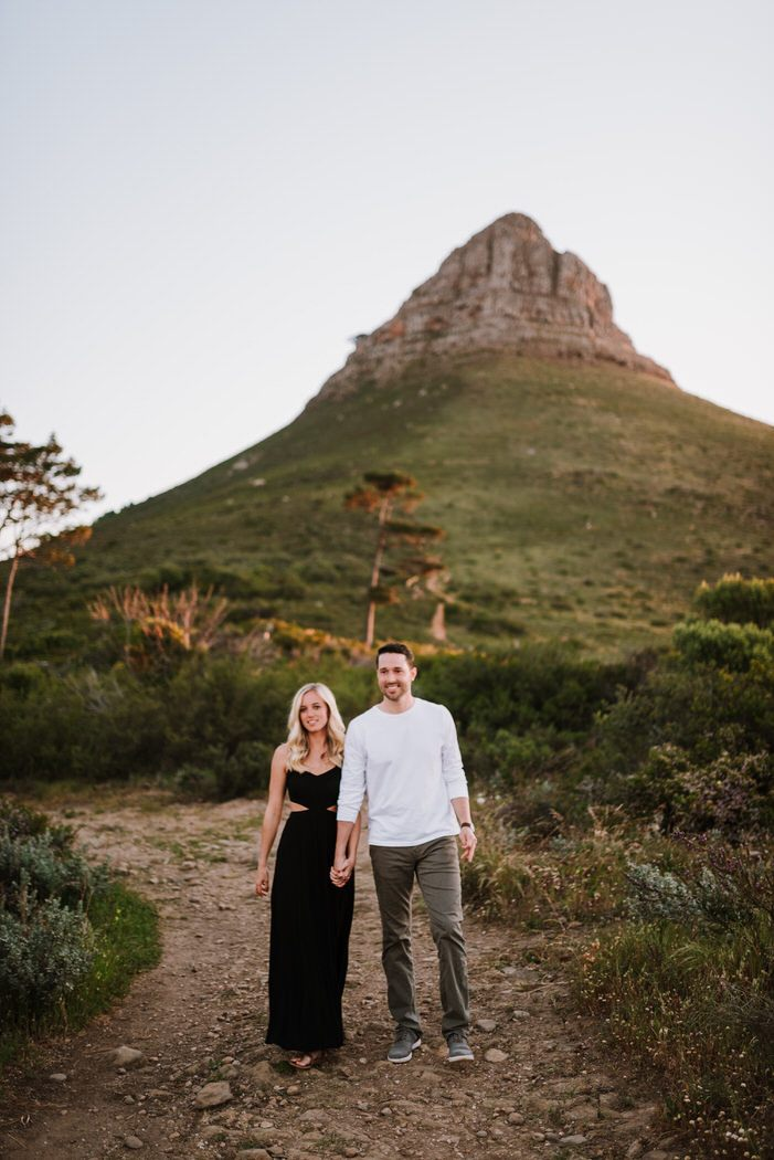 Lions head signal hill engagement shoot matt masson South African wedding photographer cape town Johannesburg durban