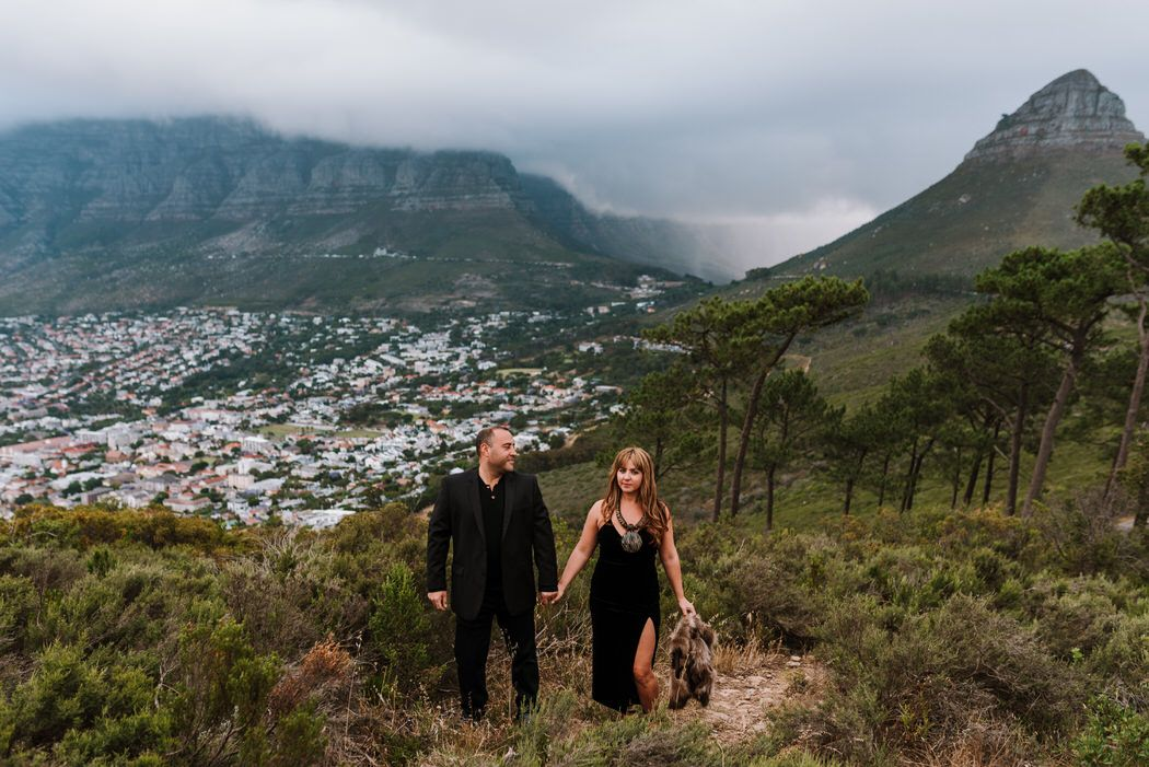 signal hill table mountain city engagement shoot matt masson South African wedding photographer cape town Johannesburg durban