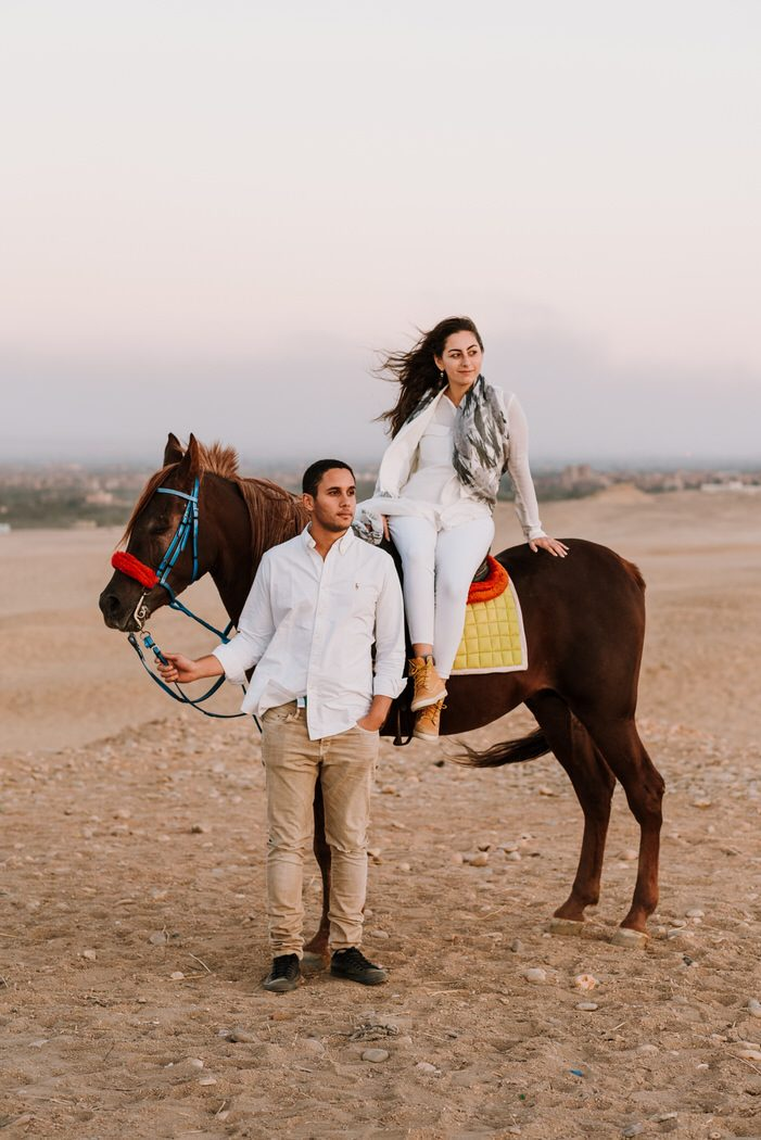 horses people couple Cairo Egypt engagement shoot matt masson South African wedding photographer cape town Johannesburg durban
