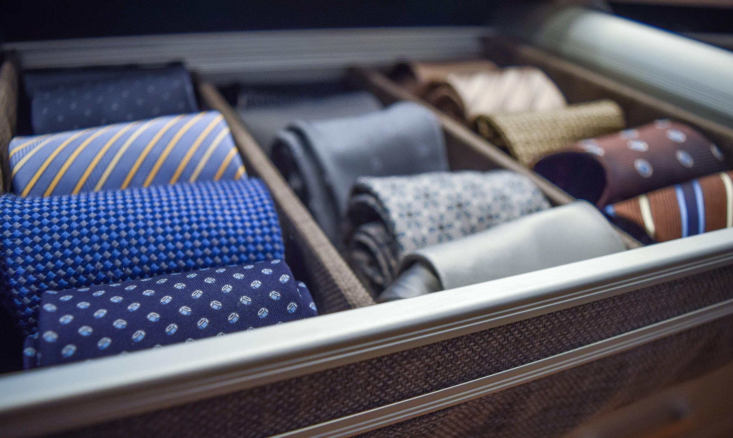 Master closet tie close up angle.jpg
