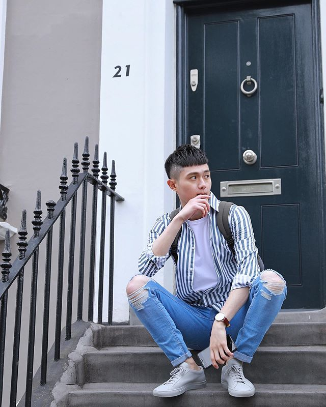 Sitting, Watching, and Waiting👀 . . 📸 @samiontheradio . . . #london #uk #unitedkingdom #ootd #asian #tiawanese #taiwanboy #londonist #londoner #nottinghill #primark #commonprojects #house