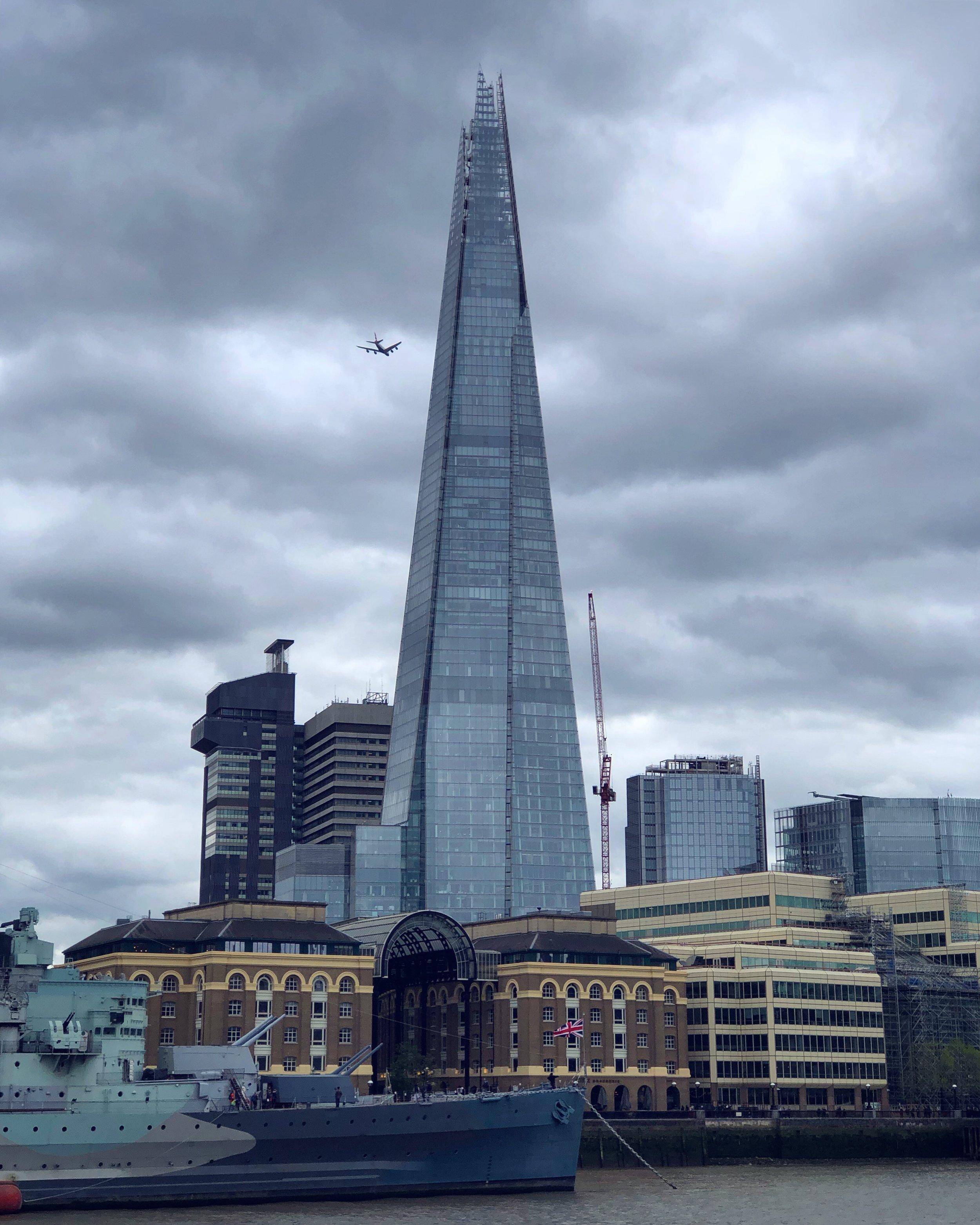 倫敦著名建築「碎片塔」The Shard