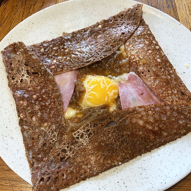 ✌🏼France | Paris | Foodie | @breizhcafe_fr Couldn't explain how it's tasty, just come to try it when u in Paris. Trust me, you won't regret😋🥰😎 . . Ham+Sun egg+Cheese+Onion €12.5 . . . #人生好難 #france #Paris #instacafe #vacation #like4like #likeforfollow #likeforlike #like4follow #l4l #the2019series #shotoniphone #thefromaboveseries #iphonography #iphonephotography #iphoneshot #phoneonly #buzzfeedfood #tastedgood #tastespotting #buzzfeedfood #buzzfeast #foodporn #fooddiary #4foodieforfoodie #parisfood #parisfoodie