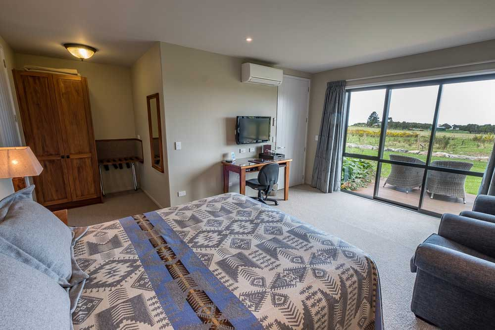 High quality, home from home guest rooms in Kaikoura, NZ