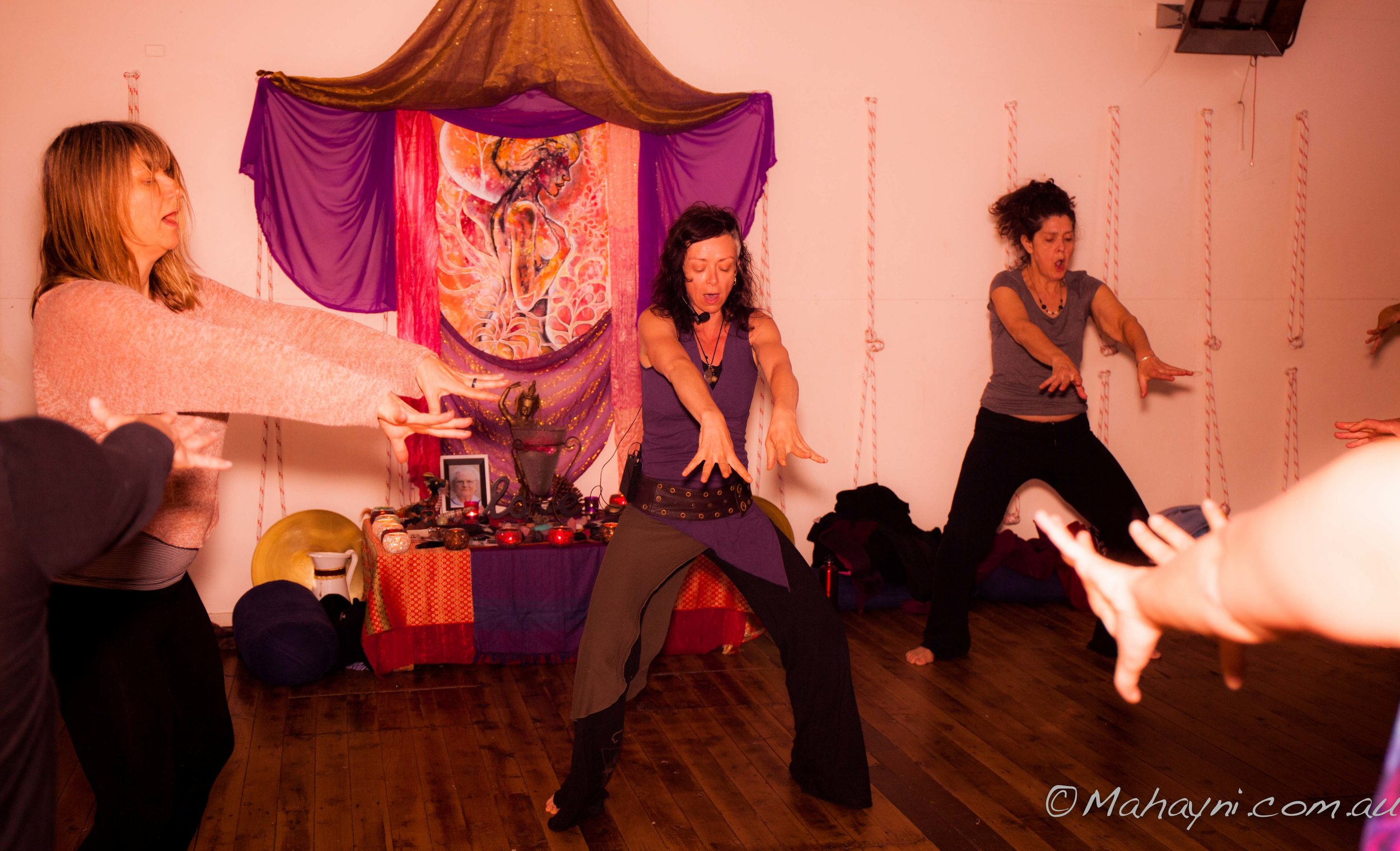 Cultivate sexual energy. Tara Fischer and Alison Petrie
