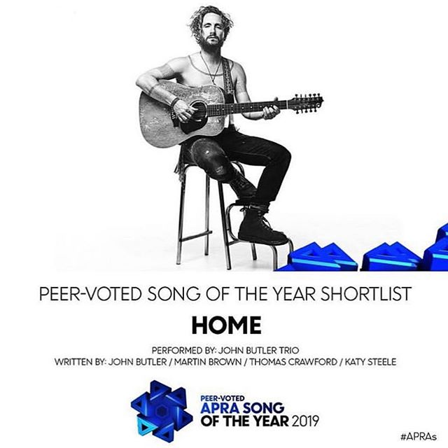Great to see this track nominated. Well done Mr Butler @johnbutlertrio