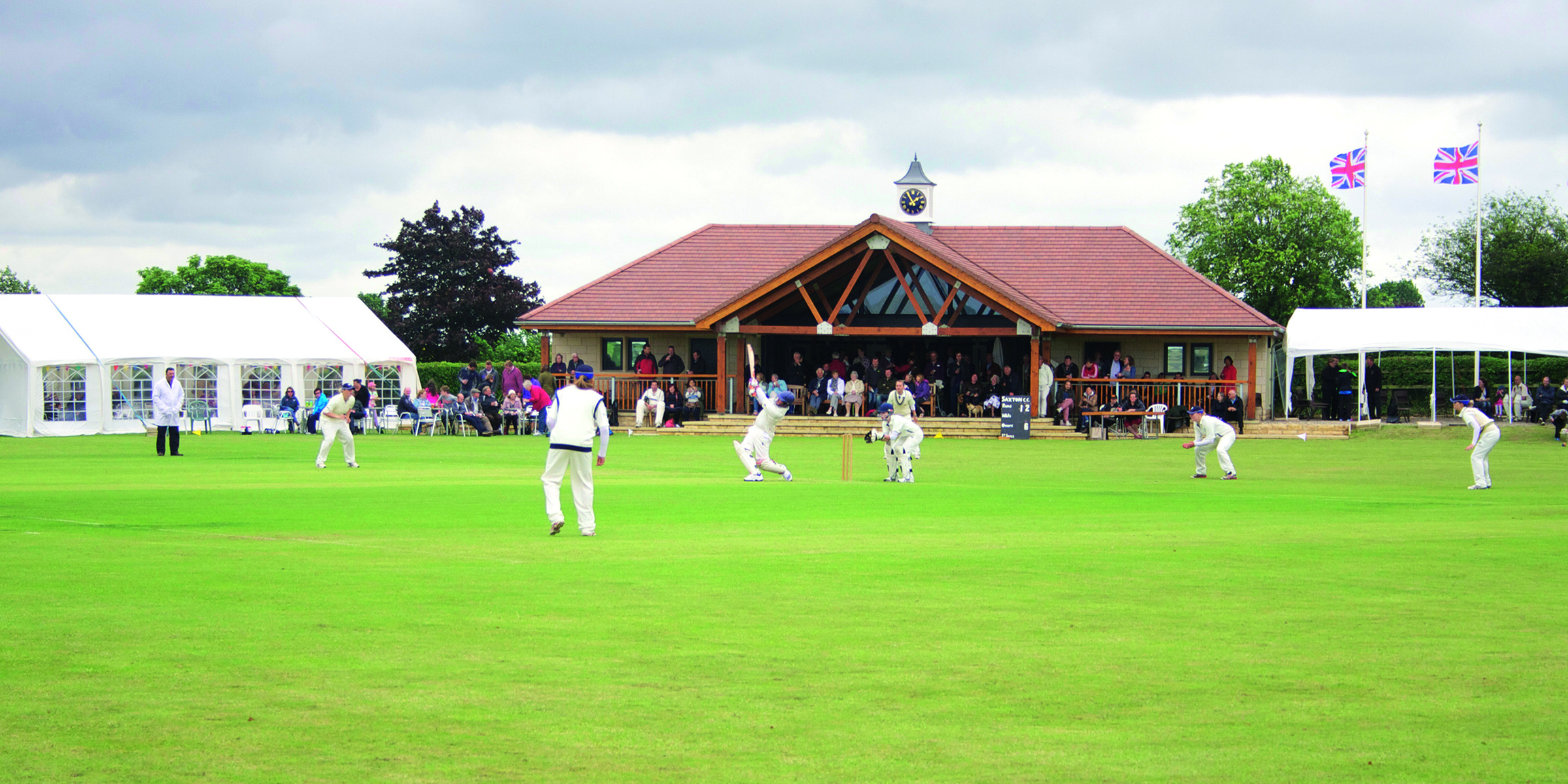 Saxton Cricket Club -
