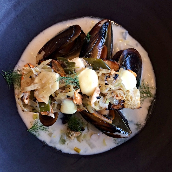 The fragrant and flavourful mussel starter