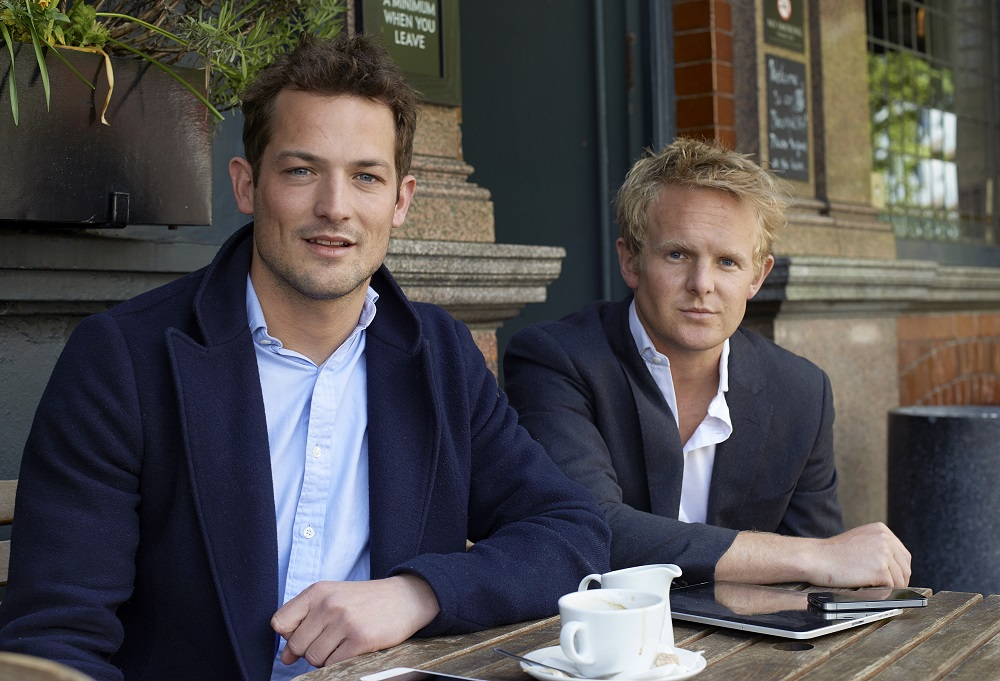 Simon Blackford and Tom de Stacpoole
