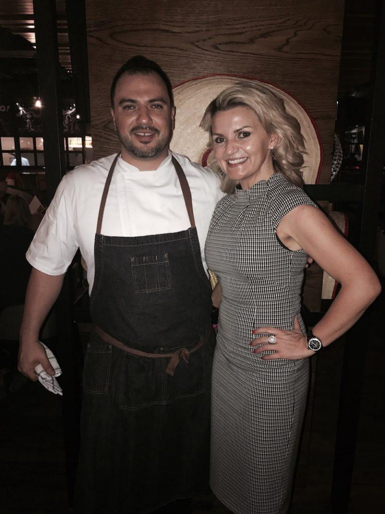 Chef Daniel and Pra