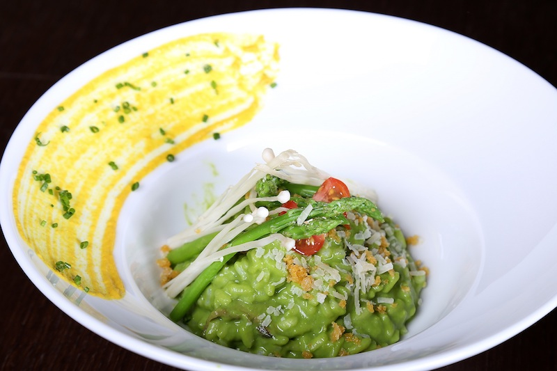 If sushi's not your thing, there's risotto (photo credit: Vii Dubai)