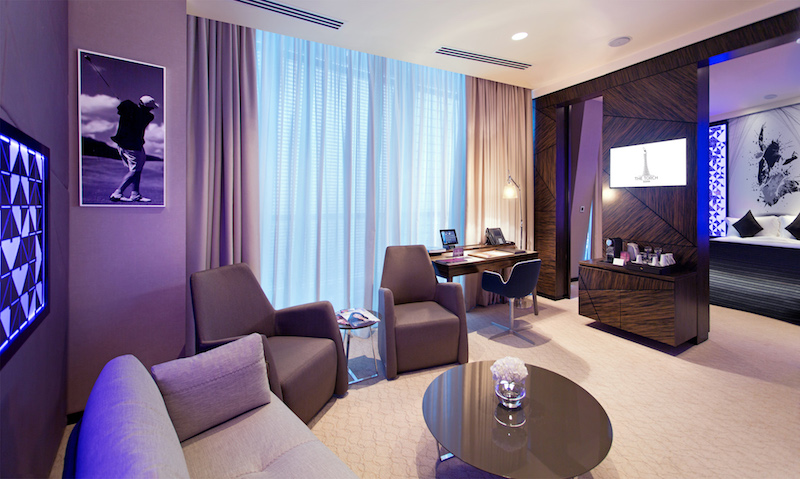 Here's what the Junior Suite looks like (photo credit: Torch Doha)