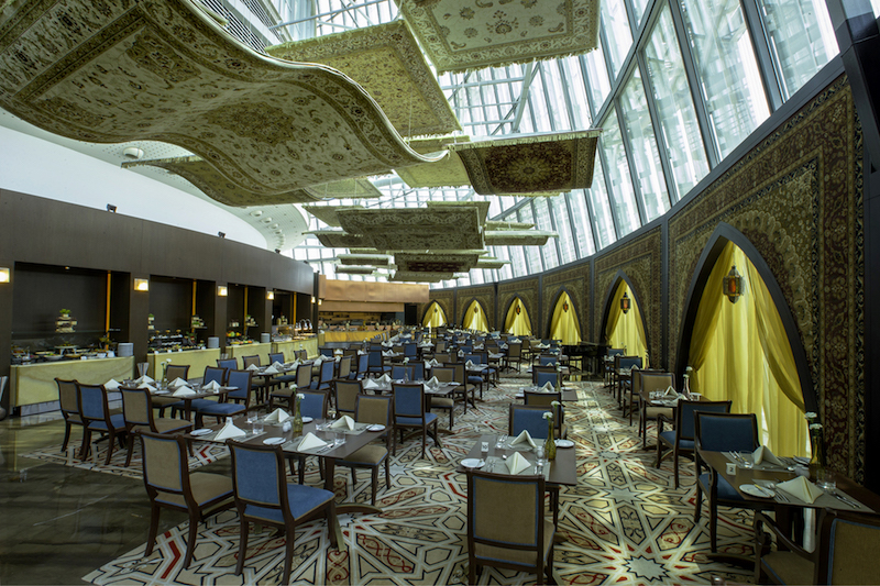 The Flying Carpet Restaurant (photo credit: Torch Doha)