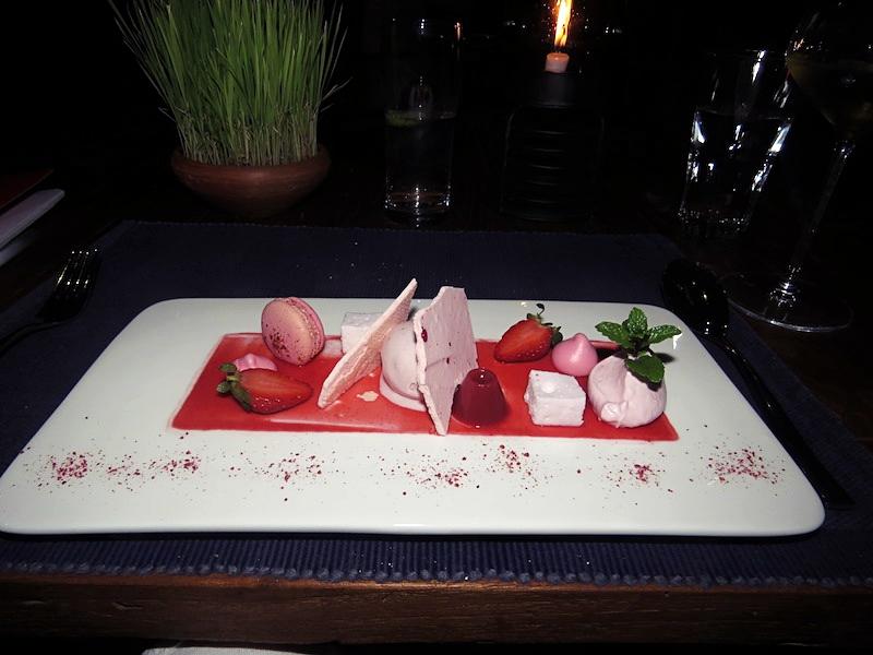 Gorgeous dessert plate