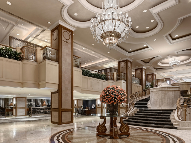 Traditional grandeur at The Langham Melbourne (photo provided by The Langham Melbourne)