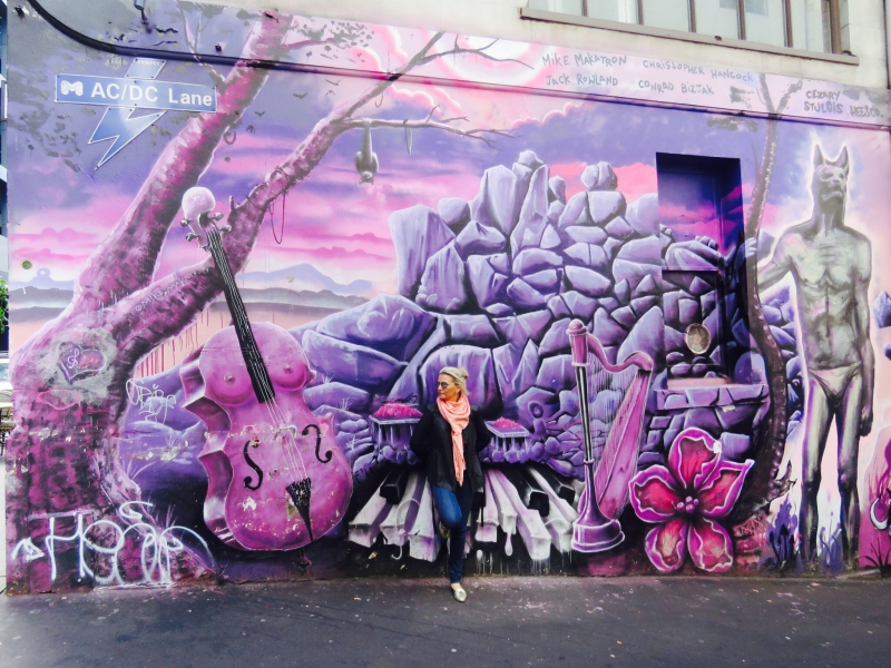 Check out ACDC Lane whilst roaming around Melbourne!