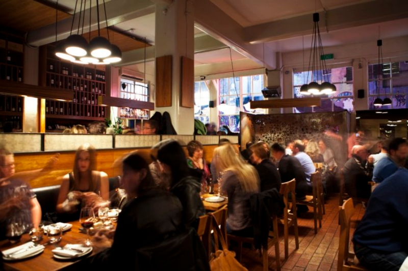 Inside the bustling Movida (photo from Movida's website)