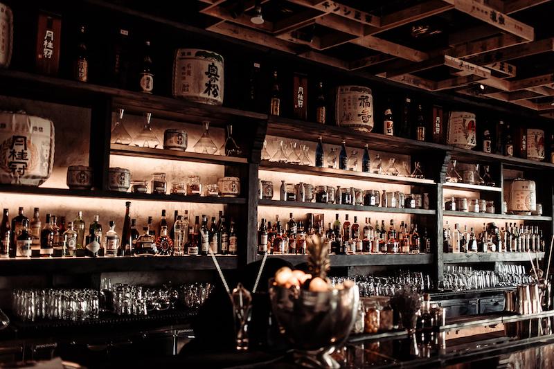 The slick sake bar (credit: Ramusake)