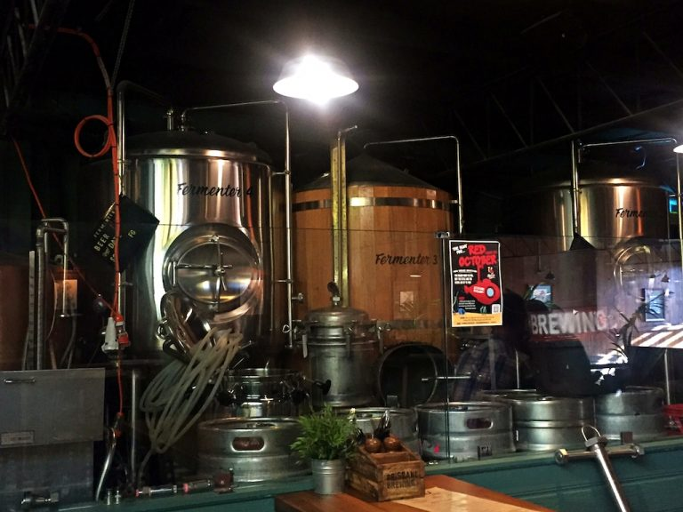 Pop into Brisbane Brewing for a look at how the good stuff is made!