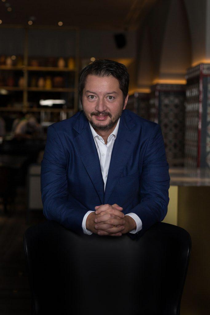 Restaurateur Umut Özkanca