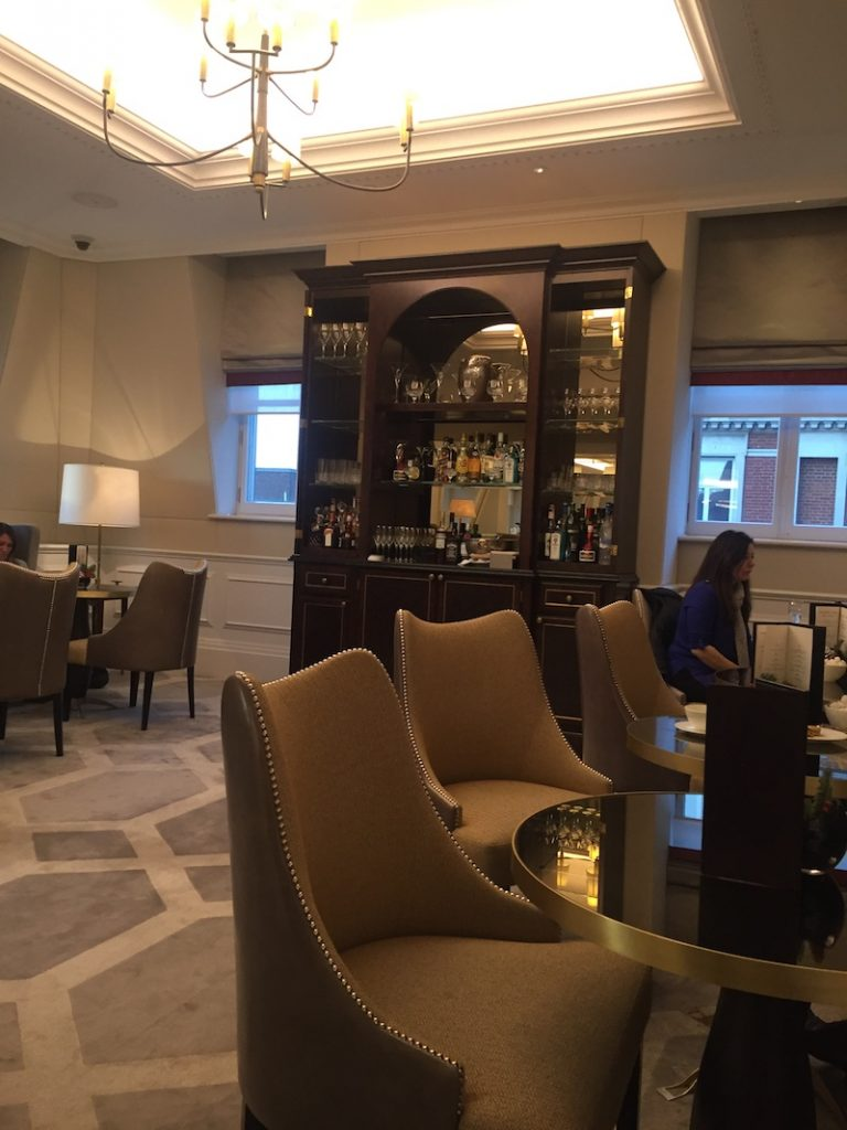 The adults-only Drawing Room where you can enjoy a tipple or two