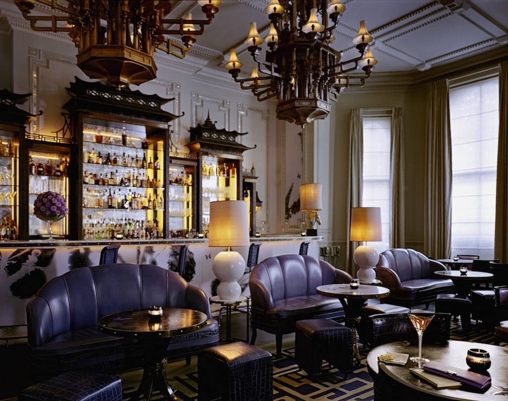 The glam (and always buzzing) Artesian (photo: The Langham London)