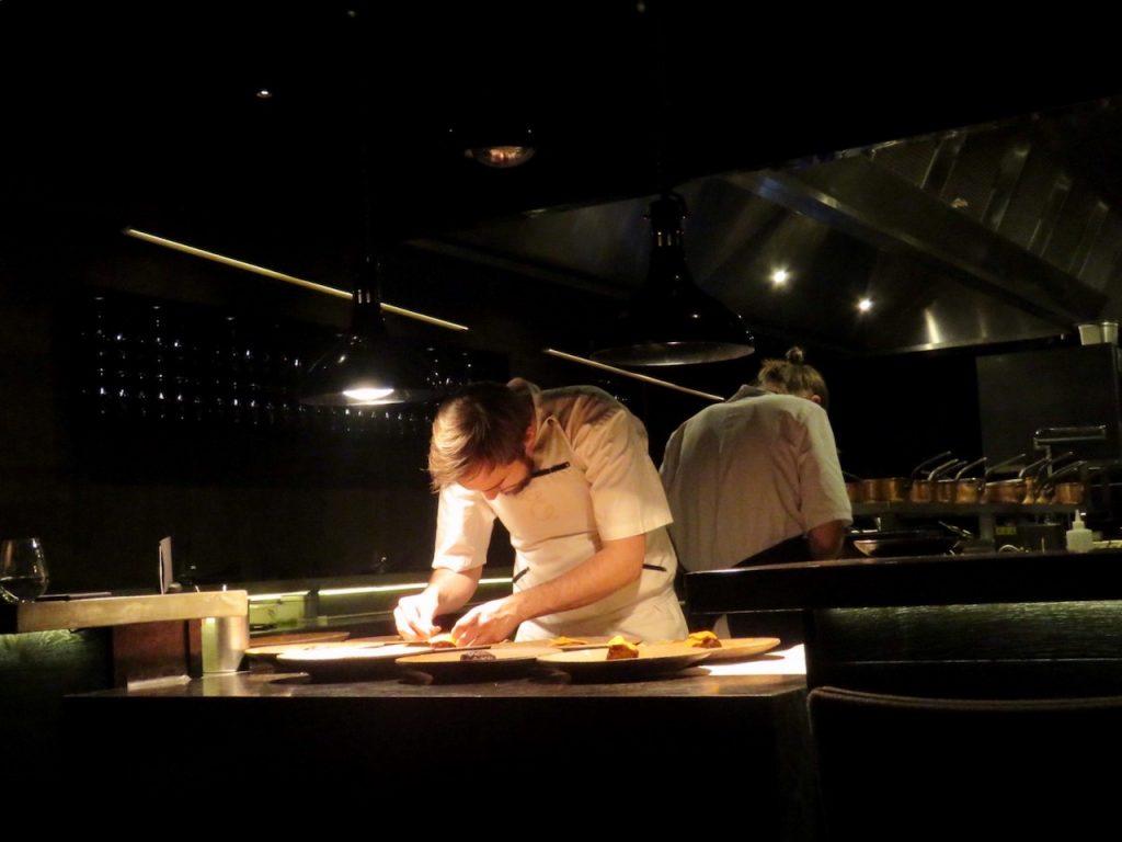 The chefs at Estelle by Scott Pickett