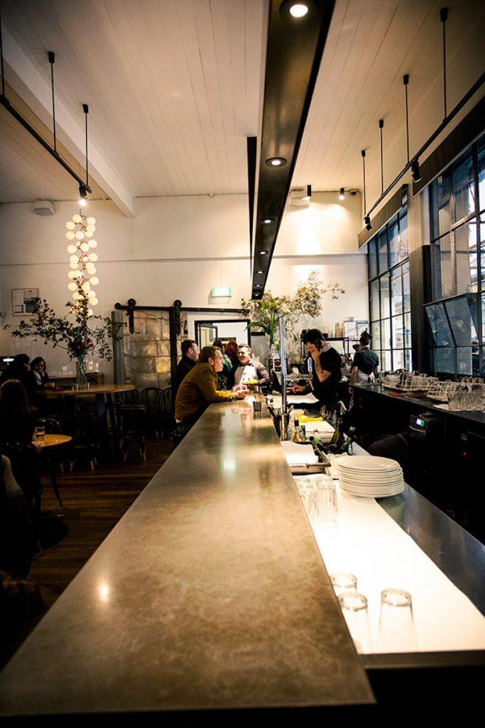 The slick bar inside Cumulus Inc. (photo credit: Cumulus Inc.)