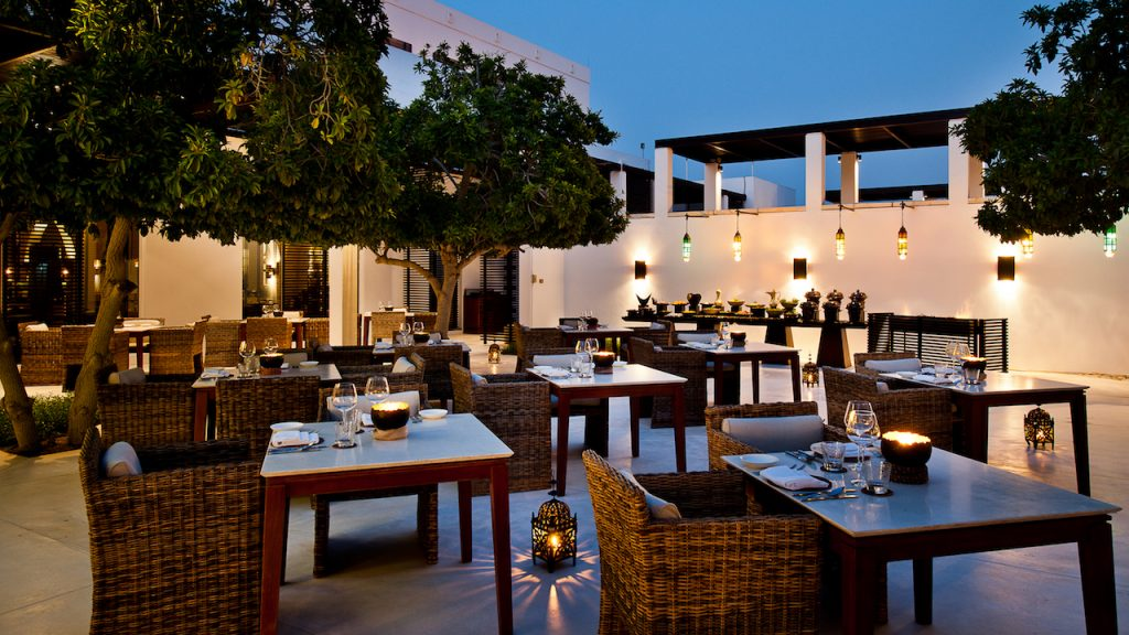 The Arabian Courtyard (photo credit: The Chedi Muscat)