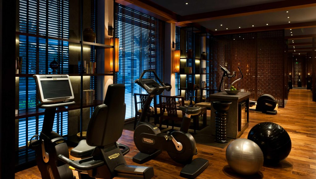 Possibly the poshest gym you'll ever set foot in! (photo credit: The Chedi Muscat)