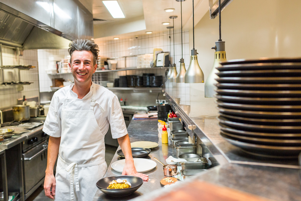 ARIA Head Chef Ben Russell (photo credit: ARIA)