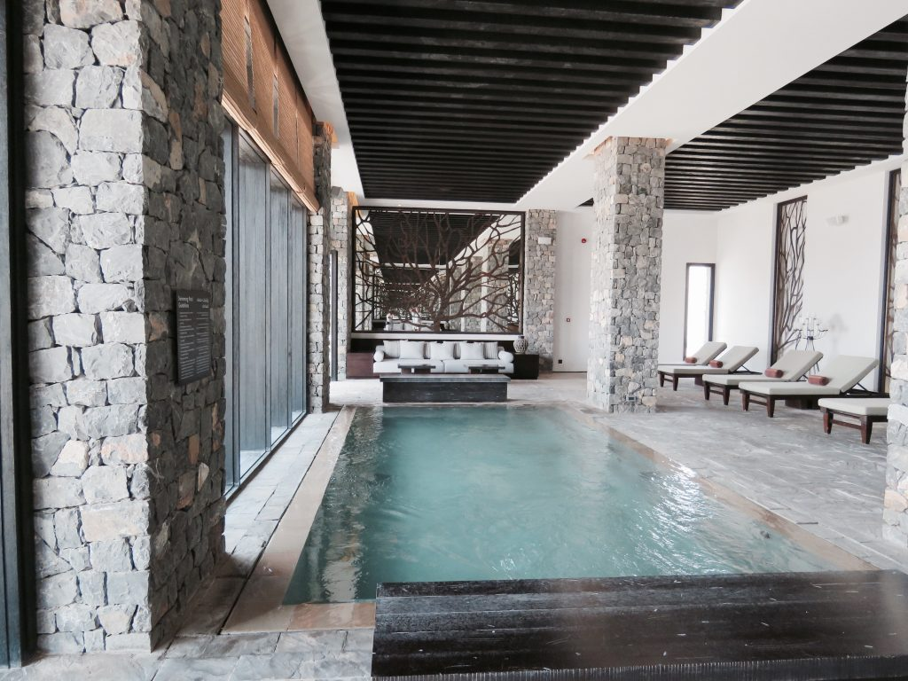 Take a relaxing dip in the indoor pool