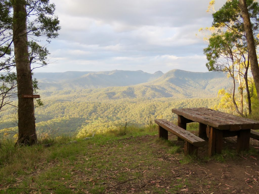 The viewpoint from Northern Lookout
