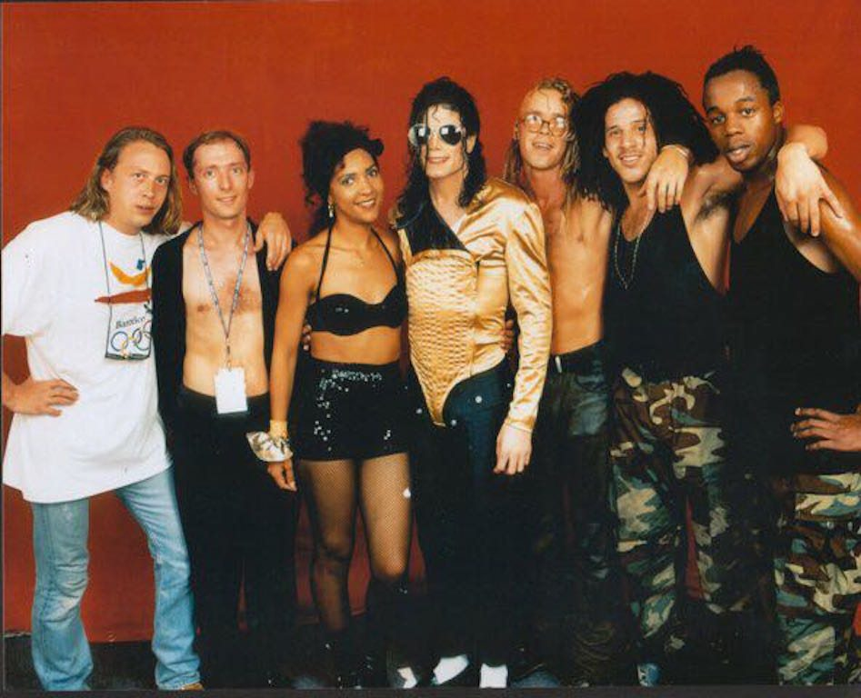 Rozalla, Michael, and the gang