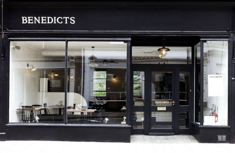 The exterior of Benedicts