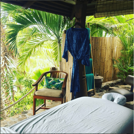 The outdoor spa – pure bliss!