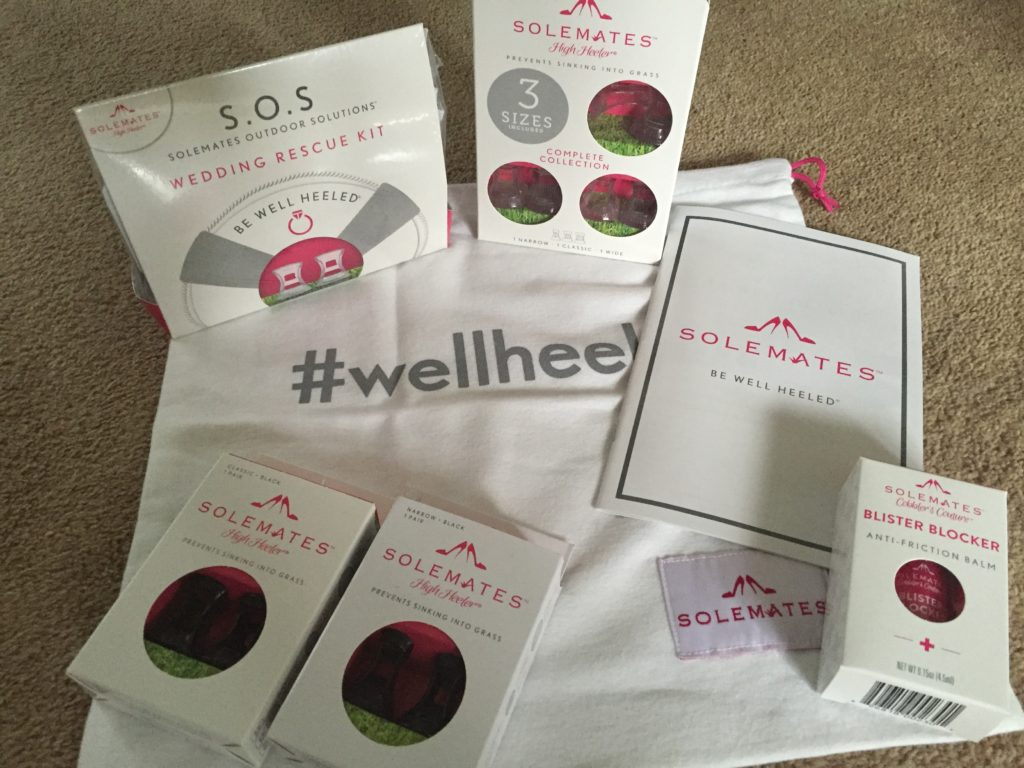 The Solemates goodies I received to soothe my soul (and my soles)