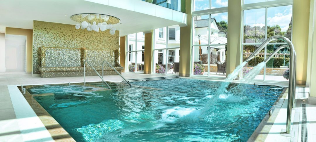 The hydrotherapy pool at Bedford Spa (Photo credit: Bedford Lodge)