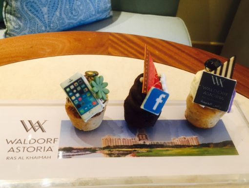 These social media cupcakes looked almost too good to eat…almost…