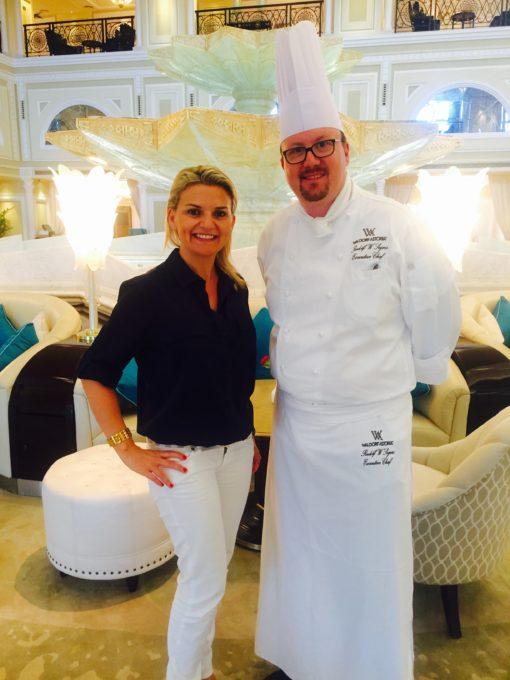 Chef Rudolf and Pra