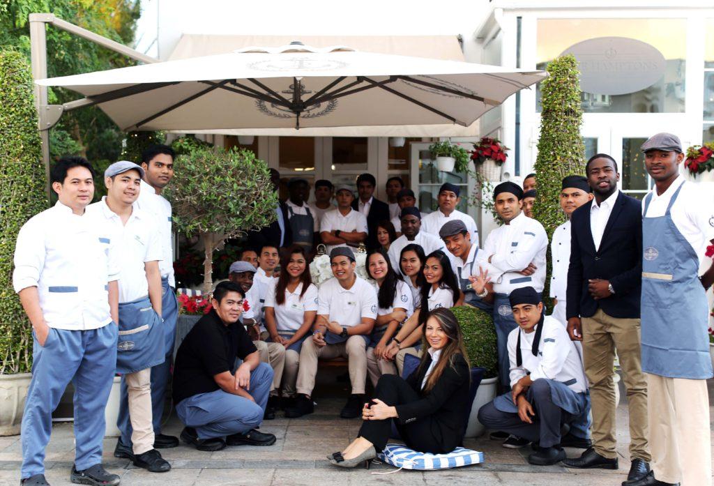The fabulous staff