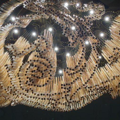 The incredible Bohemia crystal chandelier