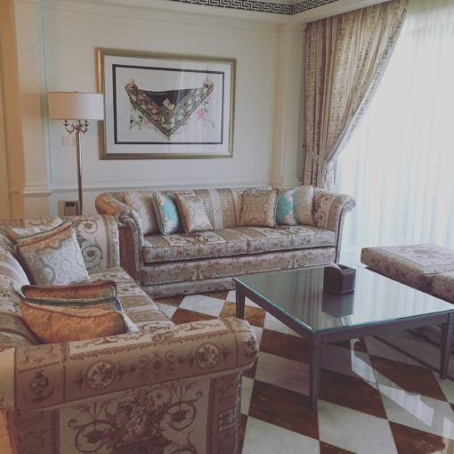 Residence suite sitting room