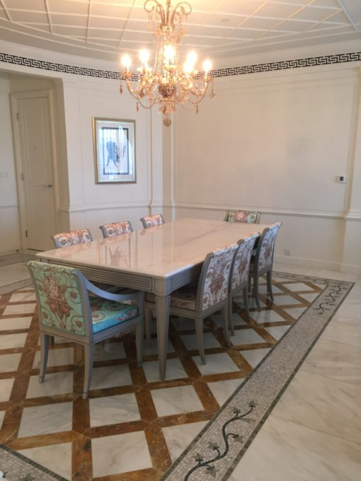 Residence suite dining room