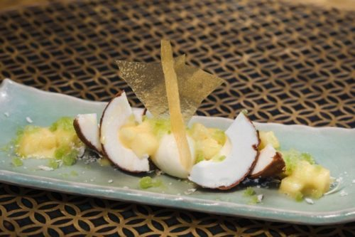 Coconut Mousse at Coya