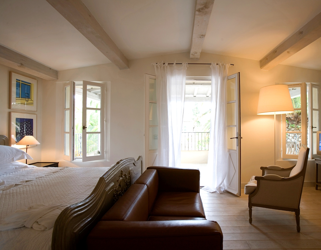 Inside one of the cosy bedrooms (photo supplied by Pastis Hotel)