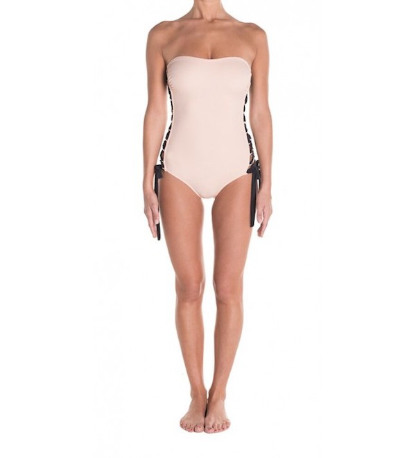 Saint-Tropez one-piece with a corset lacing on the sides   Blue Ink Beachwear's swimsuits and beachwear are right up our alley and we think you'll love them, too. The swimwear collection range from feminine powder pink with ribbon detailing to fierce metallic with a lion head print. They also have flowing beach robes and dresses that can easily take you from the beach to dinner. We're currently eyeing the Saint-Tropez one-piece, probably because  we love Saint-Tropez so much!   Visit Blue Ink Beachwear