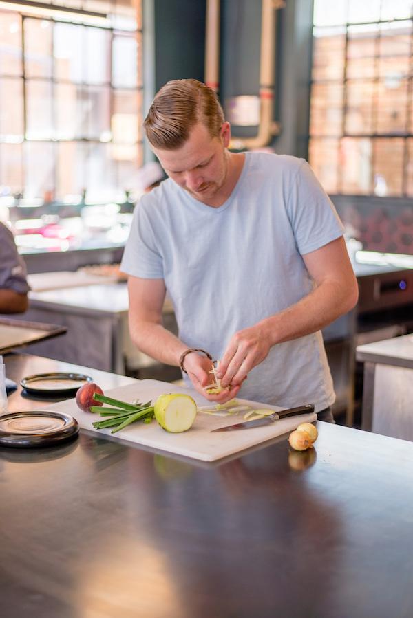 The chef at work (credit: Urbanologi)
