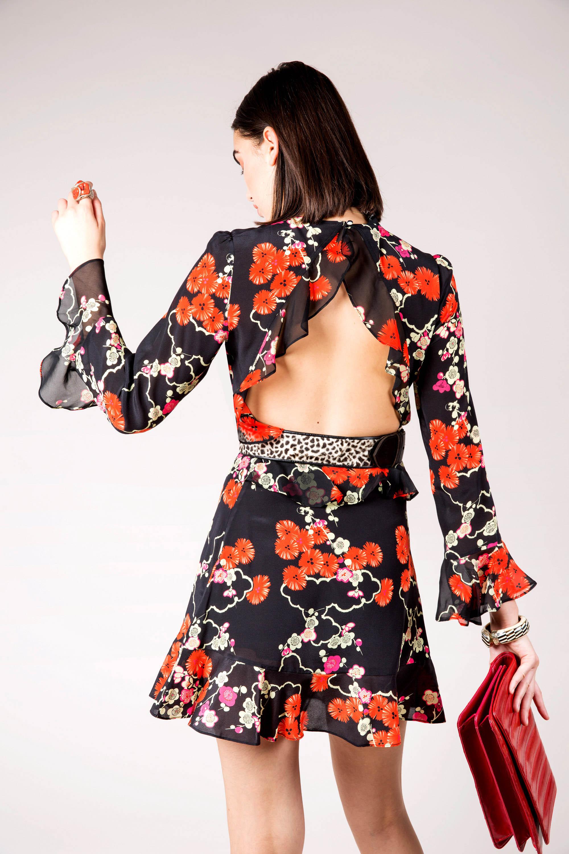 RIXO - Rebecca Blossom Tree Dress